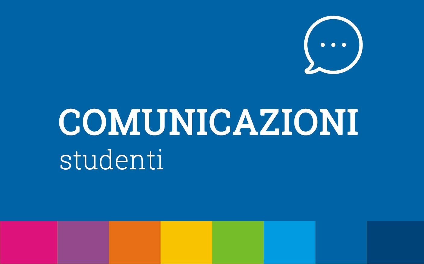Comunicazioni Studenti