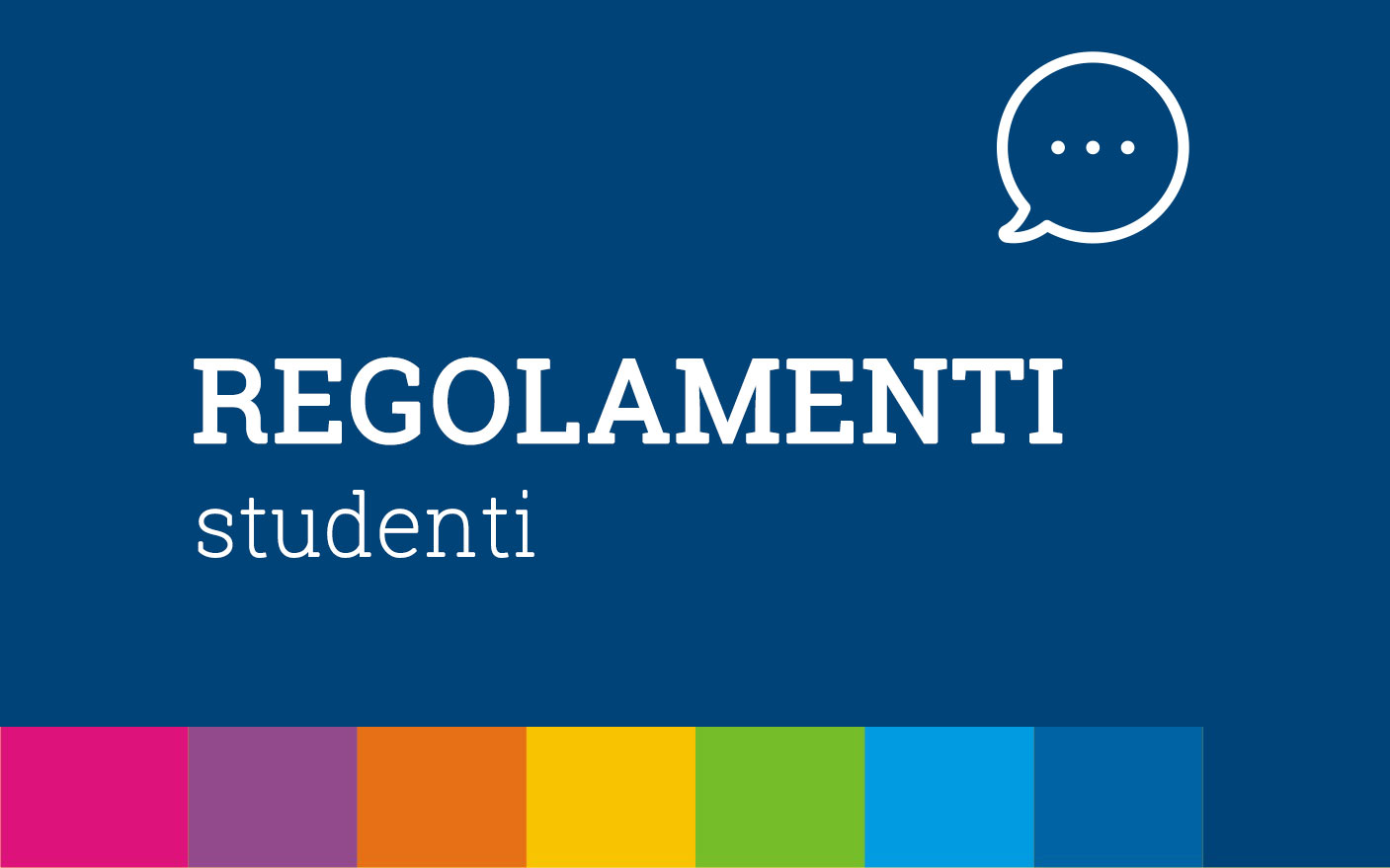 Regolamenti Studenti